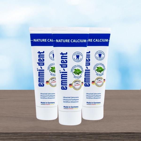 Ultraschall Zahncreme - Nature Calcium 3