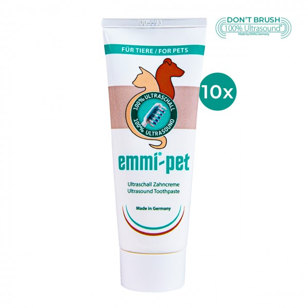 Ultraschall Zahncreme emmi®-pet - 10