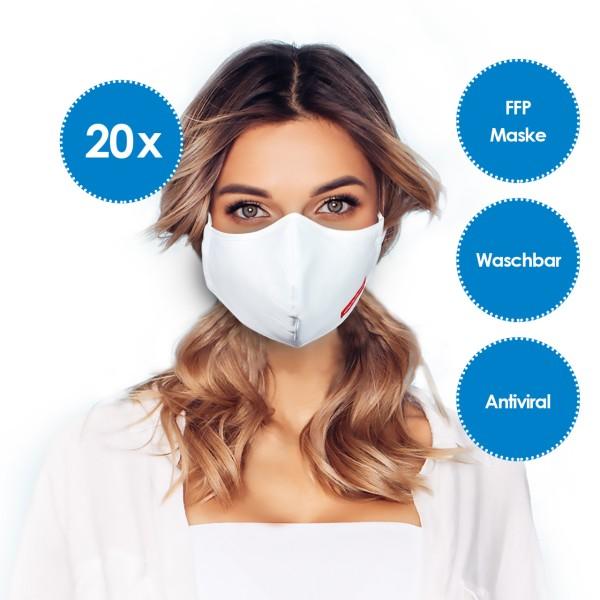 Nanosilver FFP Mund- und Nasenmaske *20er-Pack*