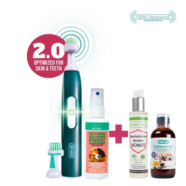 emmi®-pet 2.0 Hautpflege Set - Zeckenschutz