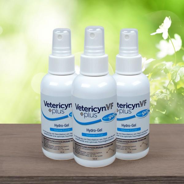 Vetericyn® VF +Plus Hydro-Gel - 3er Pack