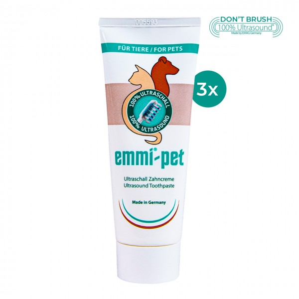 Ultraschall Zahncreme emmi®-pet - 3