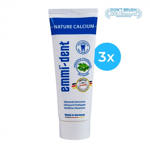 "Ultraschall Zahncreme - ""nature calcium"" 3"