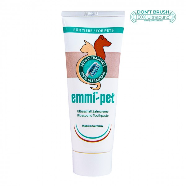 Ultraschall Zahncreme emmi®-pet