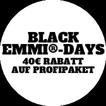 Black Emmi-Days 40€ Rabatt Auf Profipaket