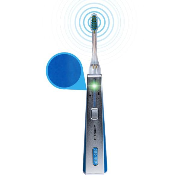 Ultraschallzahnbürste - Platinum Basis Set Blau