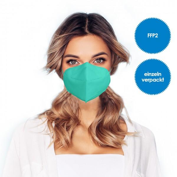 FFP2 Atemschutzmaske 1 Stück *Grün*