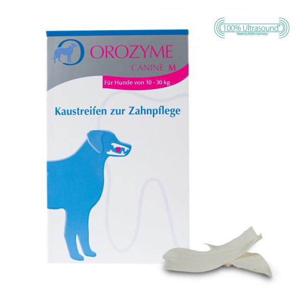Orozyme® Canine - Kaustreifen zur Zahnpflege M