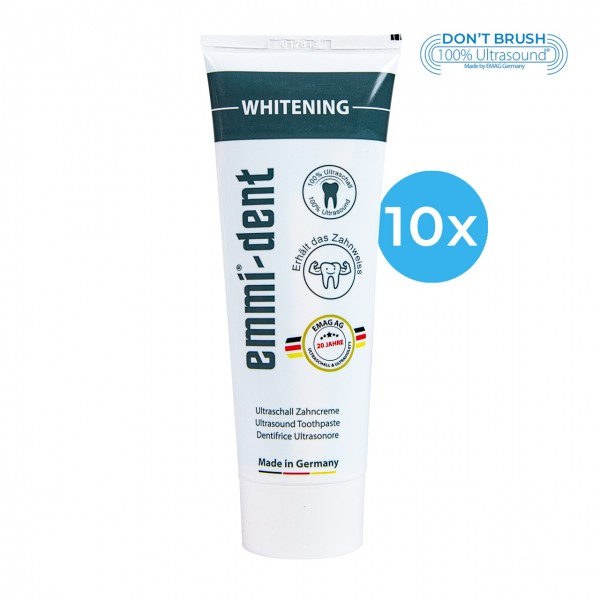 "Ultraschall Zahncreme - ""whitening"" 10"