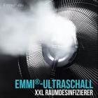Ultraschall XXL Raumdesinfizierer + 5x Emmi-BioDes Raumdesinfektionskonzentrat