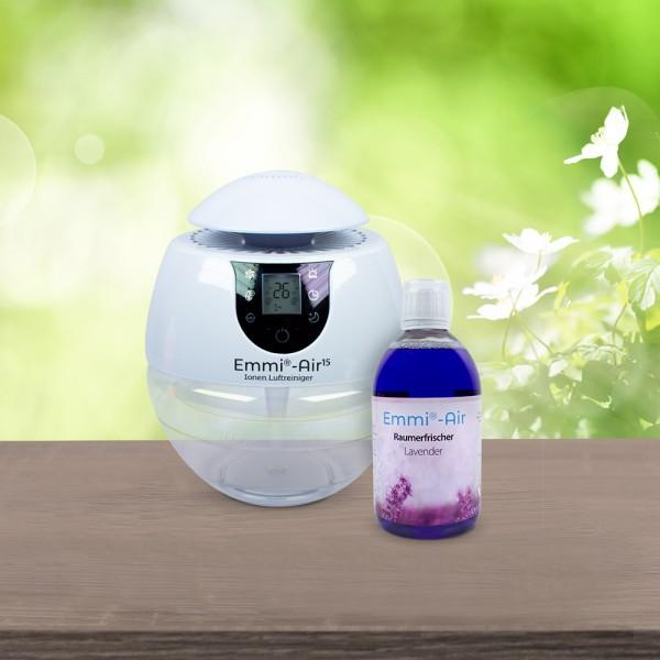 Emmi®-Air Ionen Luftreiniger + Raumerfrischer Lavender