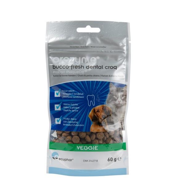 Orozyme® Bucco-Fresh Dental Croq für Katzen und Hunde unter 10 kg