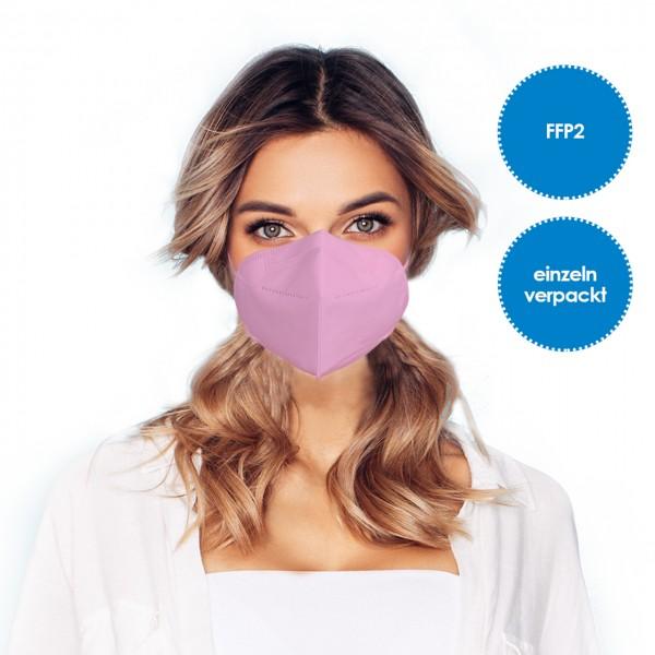 FFP2 Atemschutzmaske 1 Stück *Pink*