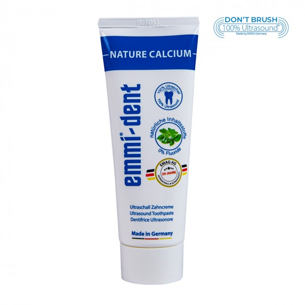 "Ultraschall Zahncreme - ""nature calcium"" ohne Verpackung"