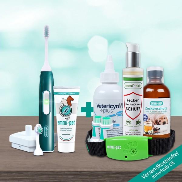 emmi®-pet Ultraschall-Zecken-Schutz Band & emmi®-skin Zecken und Stechmücken Schutz
